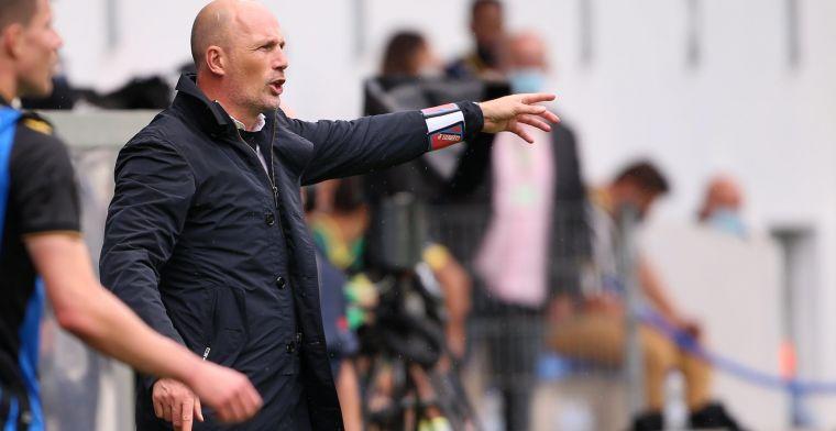 "Clement krijgt complimenten na Union-Club Brugge: ""Chapeau dat hij dat deed"""