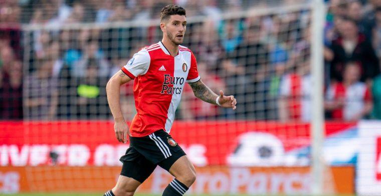 Senesi lacht: 'Hij moet weten dat hij van Feyenoord komt, rustig aan dus'