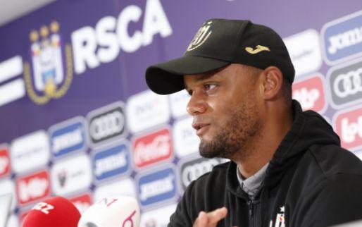 Opmerkelijk: 'Kompany niet als hoofdcoach van Anderlecht in Albanië'