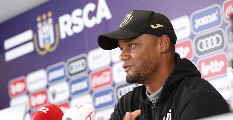 Opmerkelijk: Kompany niet als hoofdcoach van Anderlecht in Albanië