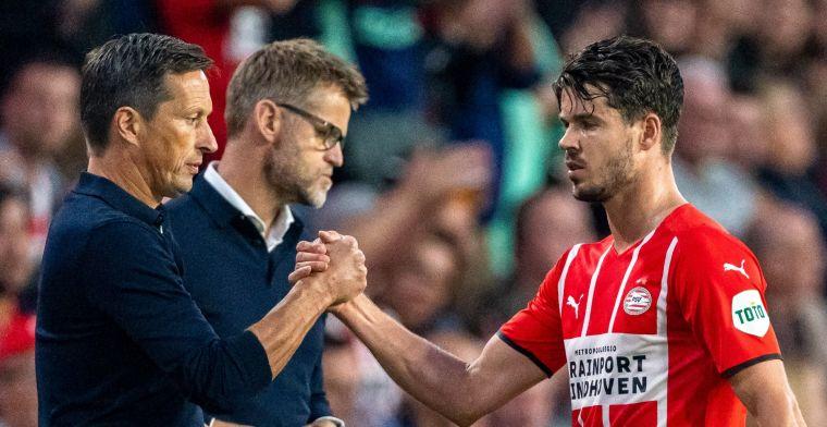 Van Ginkel vertelt over wissel: 'Of het door duel met Ajax komt? Misschien wel ja'