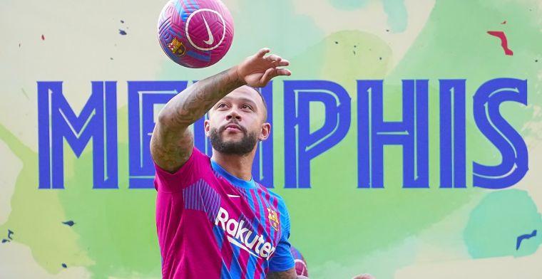 Droomstart voor Memphis: 'Hij is de belangrijkste Barça-aanwinst van het seizoen'