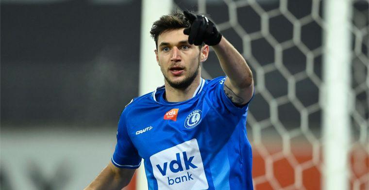 KAA Gent zwaait Yaremchuk uit: 'Verlaat ons door de grote poort'