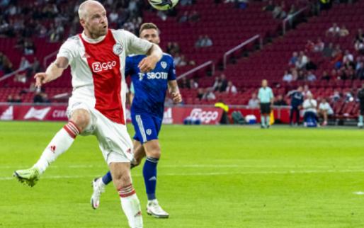 Ajax oefent nog als Eredivisie begonnen is: 'Nog niet waar we moeten zijn'