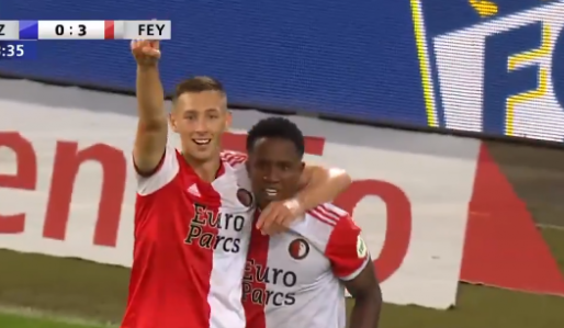 Feyenoord op rozen: tweeluik tegen Luzern al beslist na bizarre keepersblunder