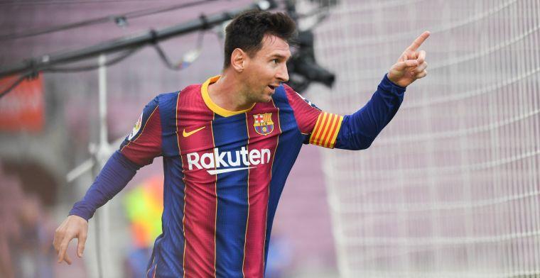 'Totale chaos' na vertrek Messi bij Barça: 'Aardbeving voelbaar tot in Argentinië'