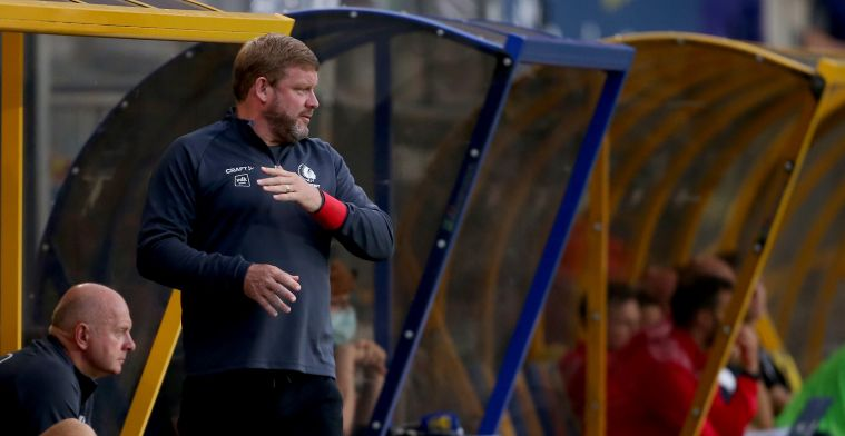 """Vanhaezebrouck stelt fans gerust: """"Spelers KAA Gent lijden niet aan twijfel"""""""