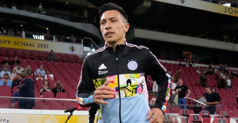 Martínez (Ajax) wijkt in duels met Messi af van gewoonte: 'Hij betekent zoveel'