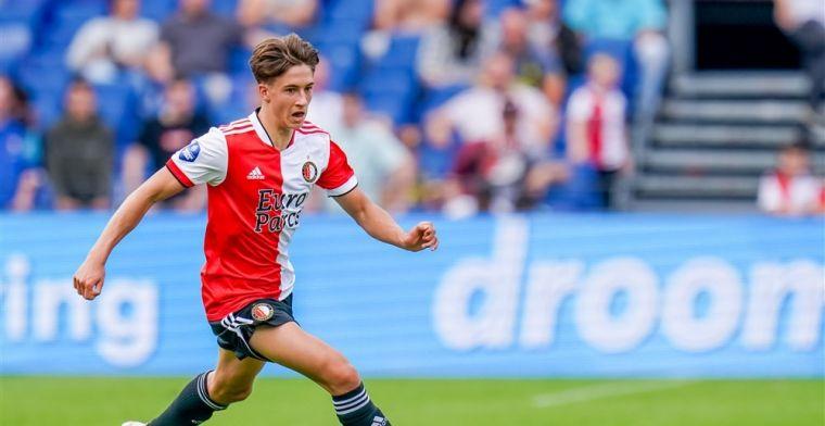 Feyenoord heeft nieuwe jongste debutant ooit: 'Ze vergelijken me vaak met Pogba'