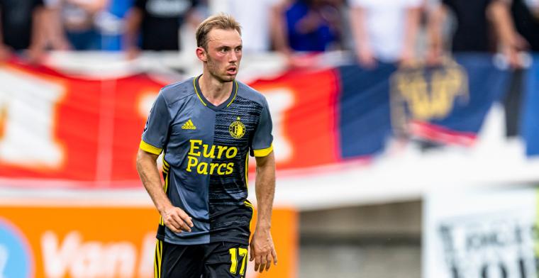 Aursnes maakt indruk en oogst lof bij Feyenoord: 'Een uitstekende voetballer'