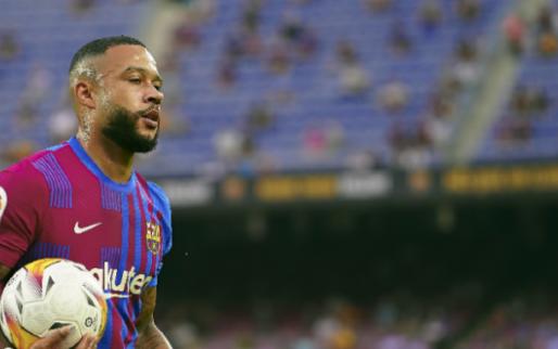 Afbeelding: Memphis redt in Bilbao een punt voor zwalkend FC Barcelona