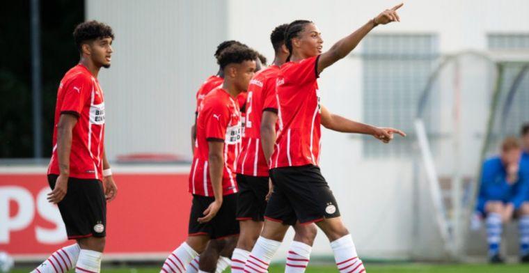 Fofana schittert tijdens Jong PSV-Eindhoven, Jong AZ wint ook derde KKD-duel
