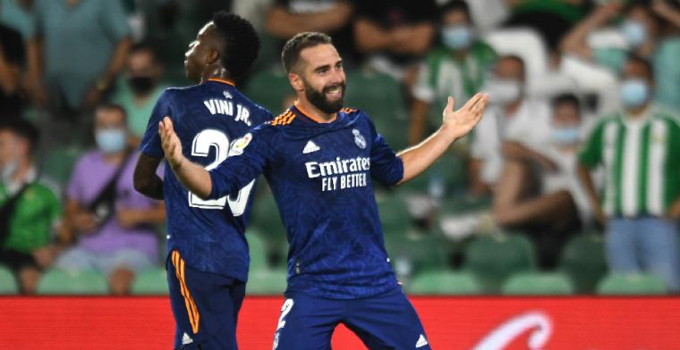 Real Madrid is koploper van Spanje na minimale zege bij Betis