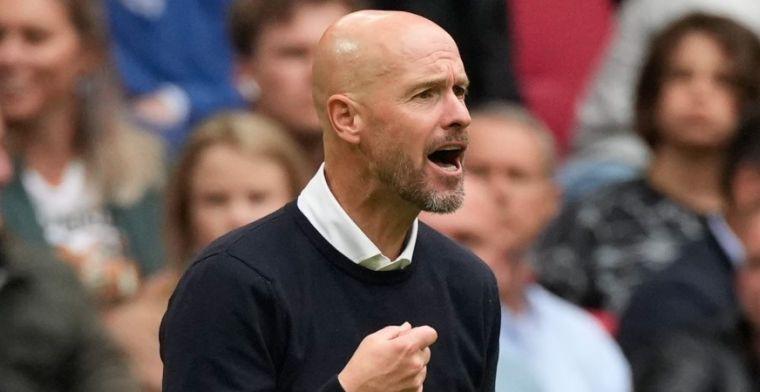 Ten Hag blij met 'welkome aanvulling' op Ajax-selectie: 'Hebben snelheid nodig'