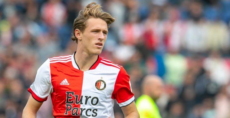 'Feyenoord ziet Burger na akkoord met Sparta naar Zwitserland vertrekken'