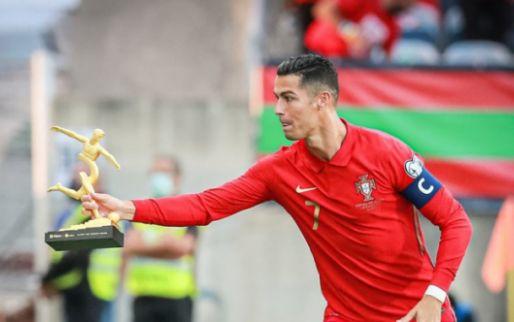 Afbeelding: Ronaldo heeft Portugees trainingskamp verlaten en meldt zich al bij United