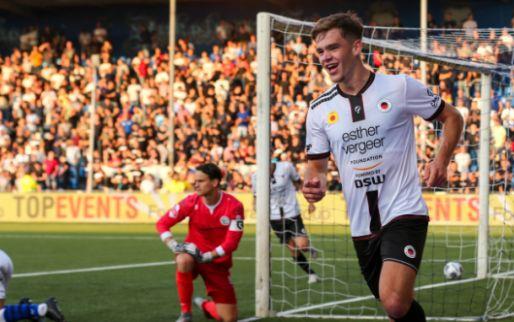 Afbeelding: Dallinga vervult absolute heldenrol bij Excelsior met vier goals bij Den Bosch
