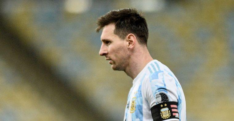 Messi komt met schrik vrij bij overwinning Argentinië, Álvarez valt op bij Mexico