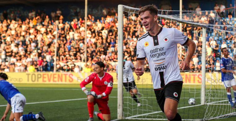 Dallinga vervult absolute heldenrol bij Excelsior met vier goals bij Den Bosch