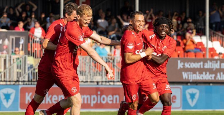 Almere City heeft weinig moeite met TOP Oss en pakt tweede seizoensoverwinning