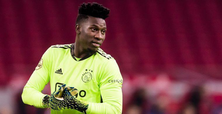 'Onana heeft al een principe-akkoord met Inter en verlaat Ajax transfervrij'