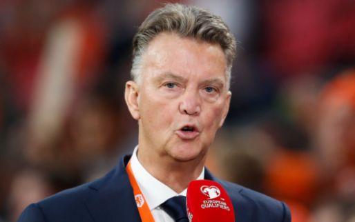 Afbeelding: Van Gaal is lyrisch over Oranje en pikt er twee momenten uit: