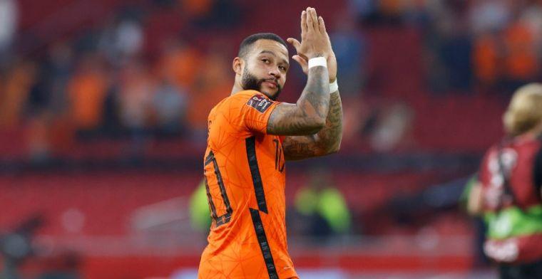 Zelfkritische Memphis geniet van klik bij Oranje: 'Geweldig, beste man op veld'
