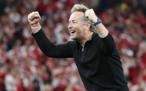 Afbeelding: Deense bondscoach apetrots na behalen 'wereldrecord': 'Dat is niet normaal'