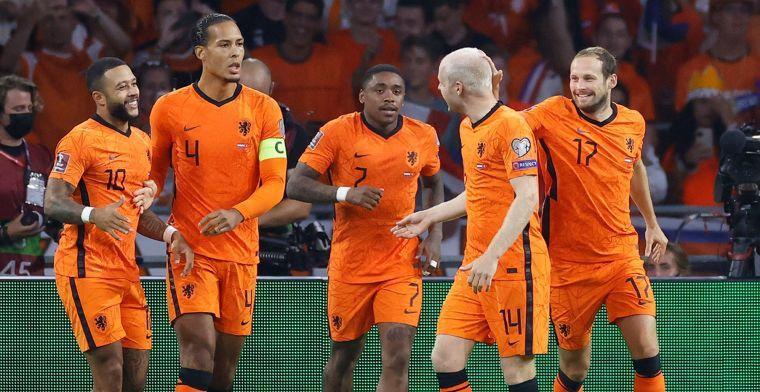 Twee Oranje-uitblinkers scoren 9,5: 'Ik kan nooit een 10 geven, maar wereldklasse'