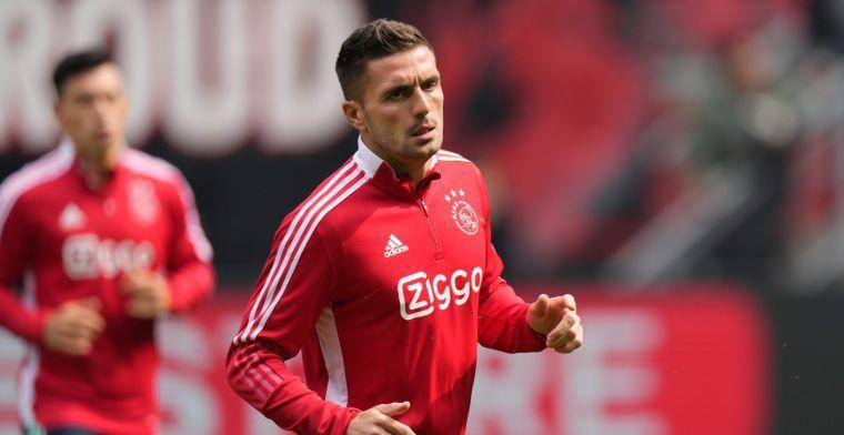 Ajax-aanvoerder Tadic verkozen Speler van het Jaar in de Eredivisie