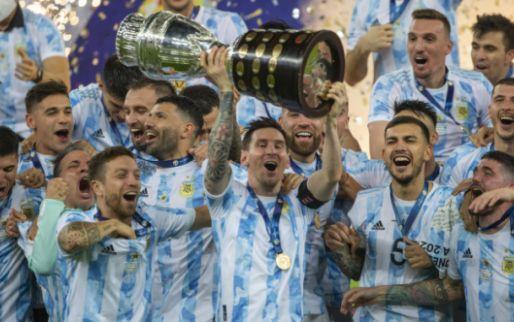 Afbeelding: Messi blikt terug op 'droom':