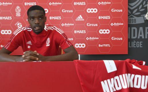 """Afbeelding: Nkounkou praat over doelen met Standard: """"Dan zal mijn seizoen geslaagd zijn"""""""