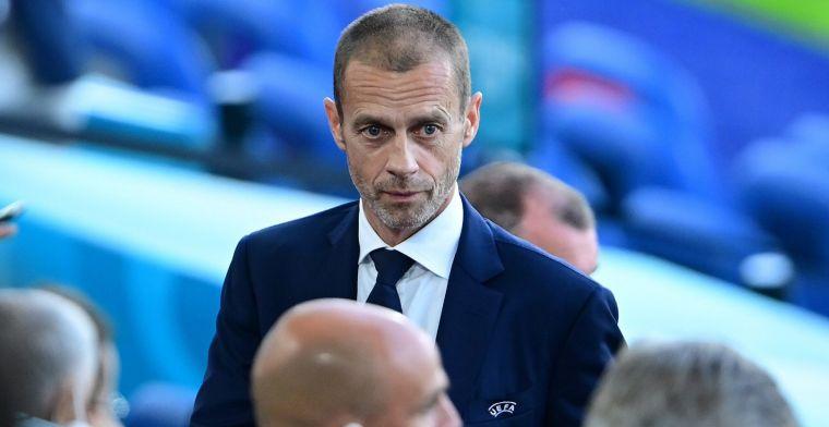 Barcelona en Real Madrid creëren ironie bij UEFA-voorzitter: 'Best grappig'