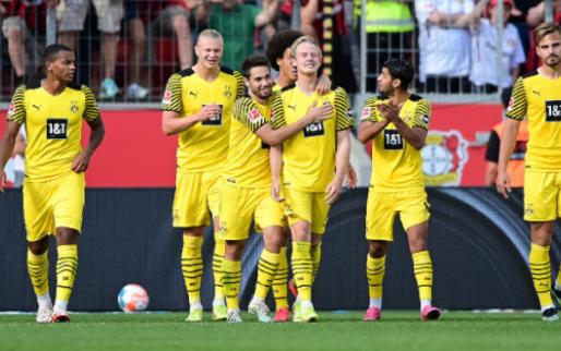 Afbeelding: Borussia Dortmund en Bayer Leverkusen maken er spektakelstuk met zeven goals van