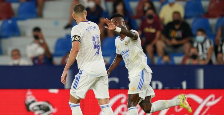 Real neemt in tweede helft pas afstand van Celta na hattrick Benzema