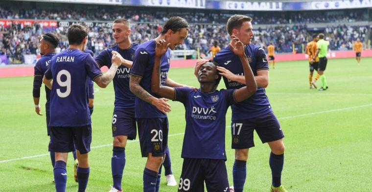 RSC Anderlecht imponeert in tweede helft en swingt zich voorbij KV Mechelen