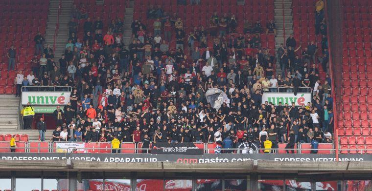 FC Twente is klaar met overlast uitvak: supporters bekogeld met bekers urine