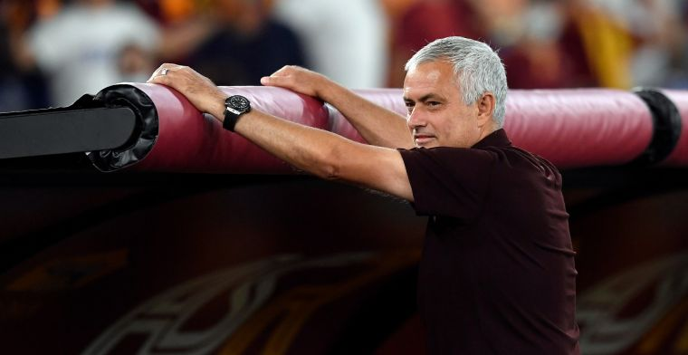 Liegende Mourinho doet onthulling: 'Ik was doodsbang, gelukkig hebben we gewonnen'