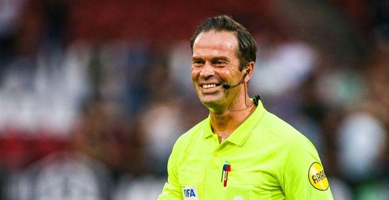 VAR Nijhuis keurde Ajax-doelpunt goed: 'Ik keek alleen maar of het bewust was'