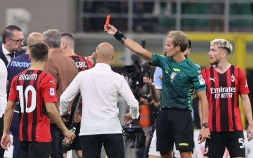 Afbeelding: Lazio-coach Sarri kent zijn schorsing na akkefietje met Saelemaekers