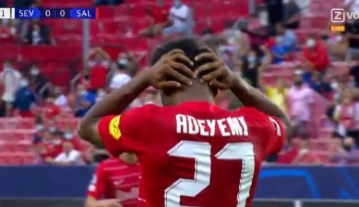 Bizar: vier strafschoppen binnen veertig minuten bij Sevilla tegen Salzburg