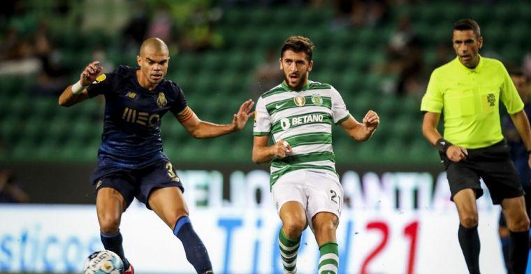 Sporting Portugal dient klacht in na actie van Porto-verdediger Pepe