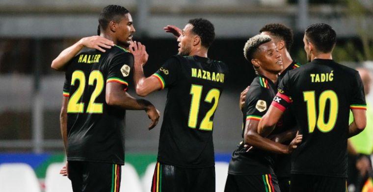 ''Shirtprobleem' Ajax lost zichzelf op, geen Marley-shirt tegen Sporting Portugal'