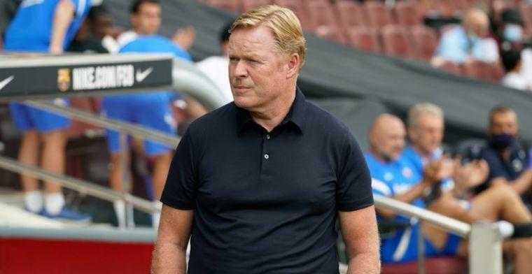 Dest bezorgt Koeman en Barça meevaller, De Jong kan officiële debuut maken
