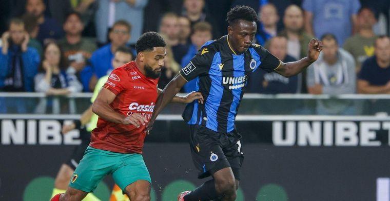 Sowah over transfer naar Club Brugge: Had er genoeg van