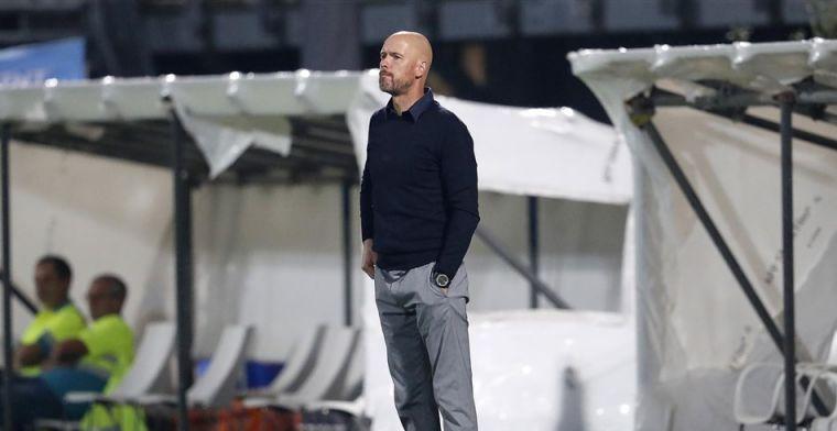 Ten Hag geeft alvast één Ajax-basisklant weg: 'Ja, hij is fit en gaat spelen'