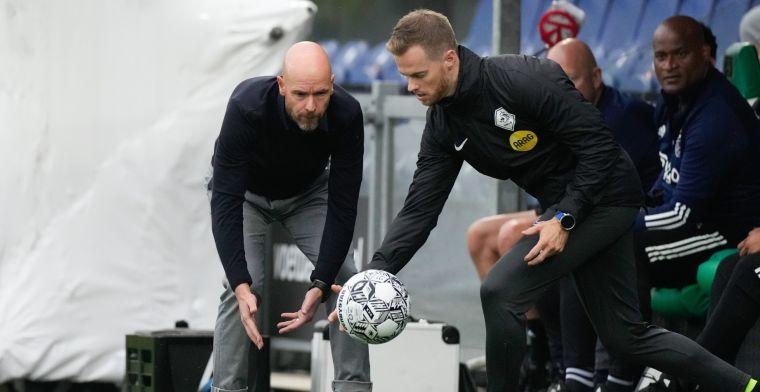 Ten Hag rekent op Ajax-contractverlenging: 'Ga uit van het goede van de mens'
