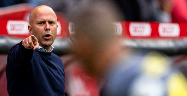 Slot: 'Trainingen bij Feyenoord ervaart hij iets pittiger dan bij Arsenal'