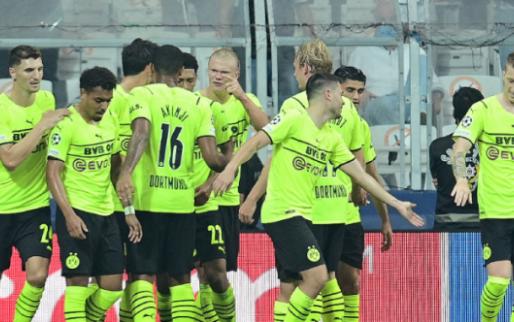 Afbeelding: Batshuayi bijt in het zand, Dortmund wint mede door assist van Meunier