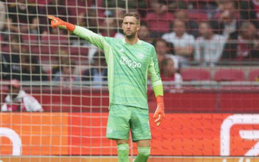 'Forse tegenslag voor Ajax: Stekelenburg haakt alsnog af voor duel met Sporting'